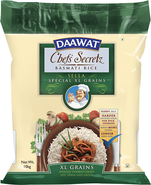 Daawat Chef's Secretz Basmati Rice - Sella Special