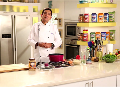 Daawat Basmati Rice secrets with Sanjeev Kapoor