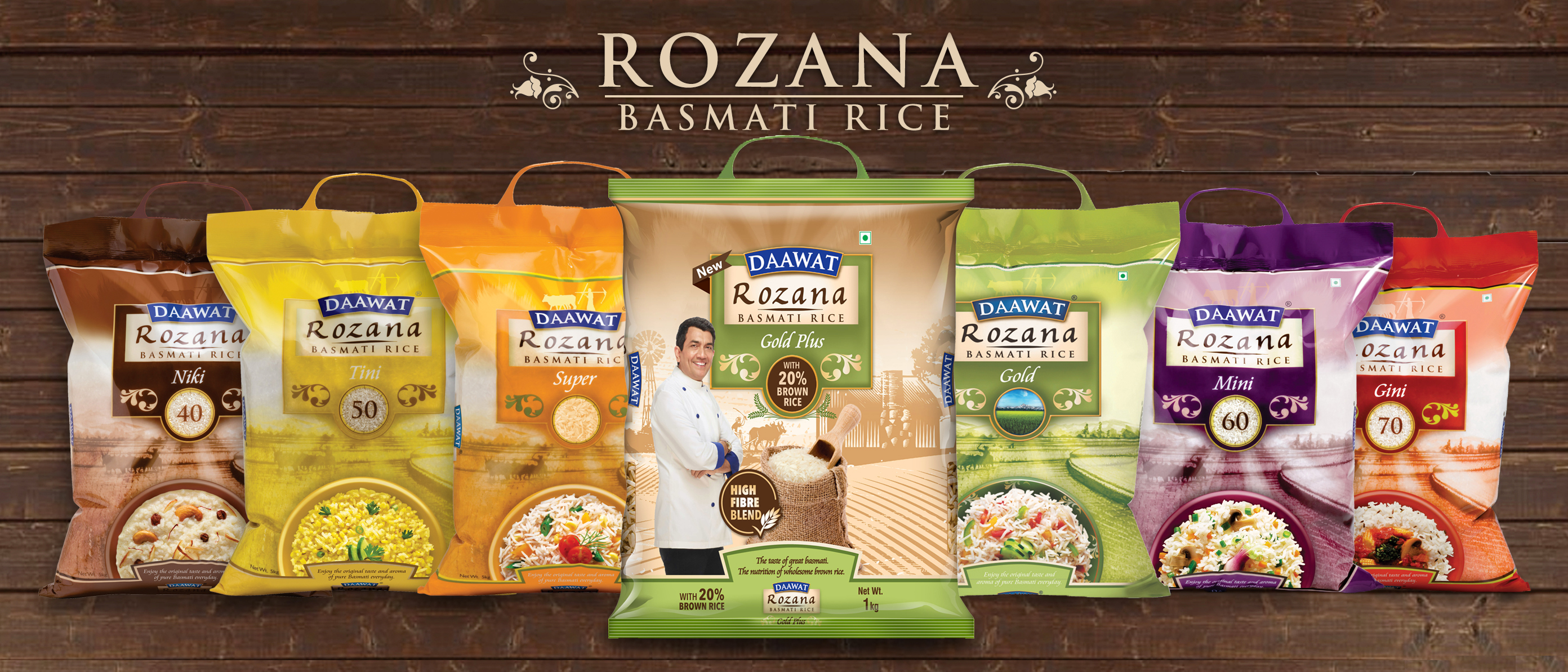 Daawat Rozana Basmati Rice Products