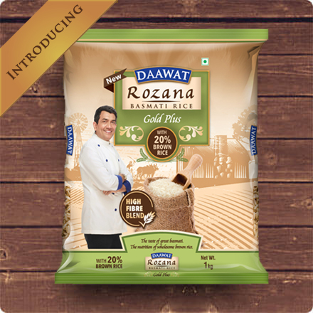 Daawat Rozana Basmati Rice - Gold Plus